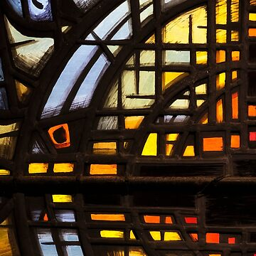 Culross Abbey - Stained Glass by 242Digital