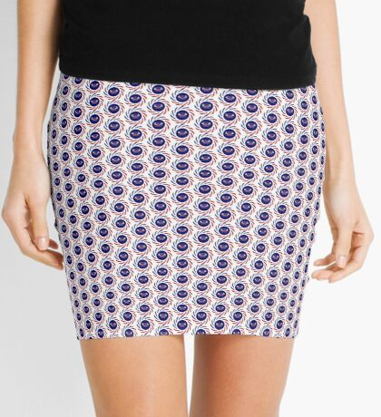 Mahorai American Multinational Patriot Flag Series Mini Skirt