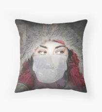 Infuenza09 Throw Pillow