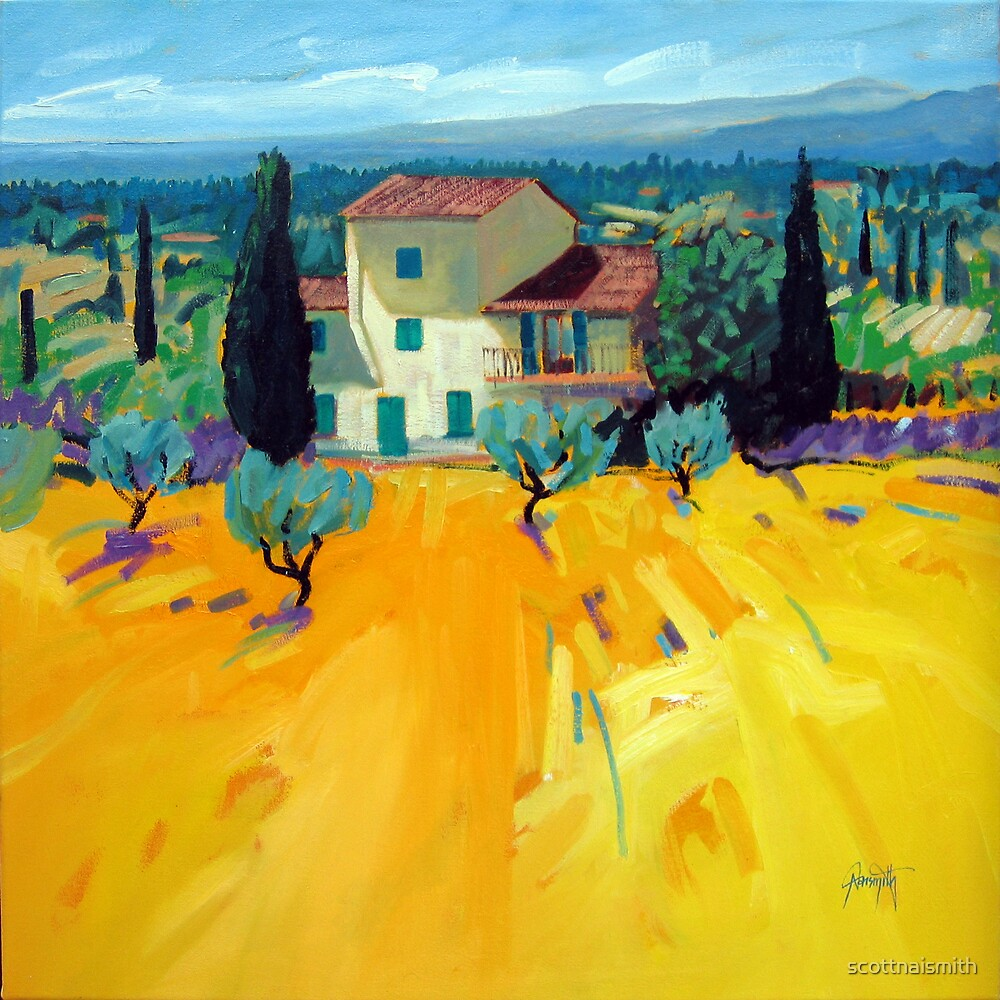 Olive Grove by scottnaismith