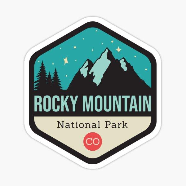 Rocky Mountain Park Badge Sticker