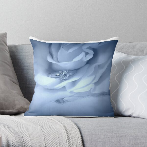 As Love Unfolds Throw Pillow