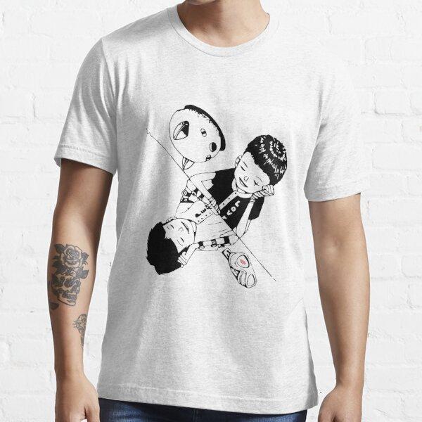 Tekkon - Blanco y negro Camiseta esencial