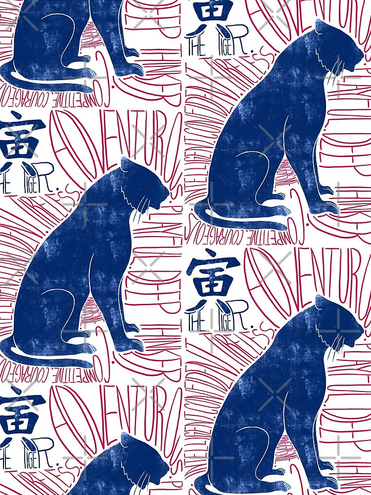 The Tiger Chinese Zodiac Sign by Ranggasme