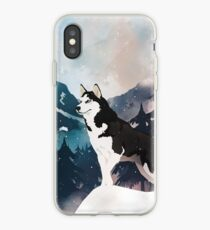Mountain Husky  iPhone-Hülle & Cover