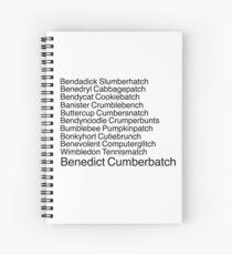 Benedict Cumberbatch Spiral Notebook