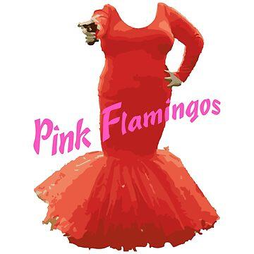 Pink Flamingos by asnowlook