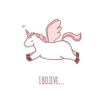 Cute unicorn by Anviczo