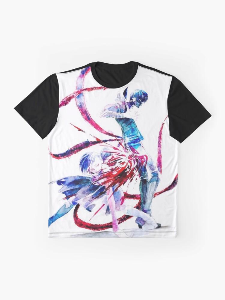 Vista alternativa de Camiseta gráfica Anime