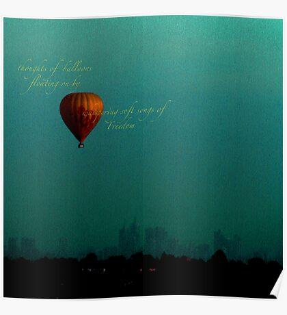 whispering balloon... Poster