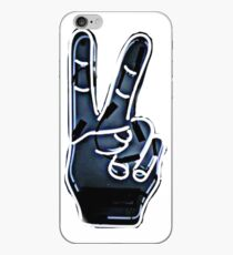 Peace Hand Sign iPhone Case