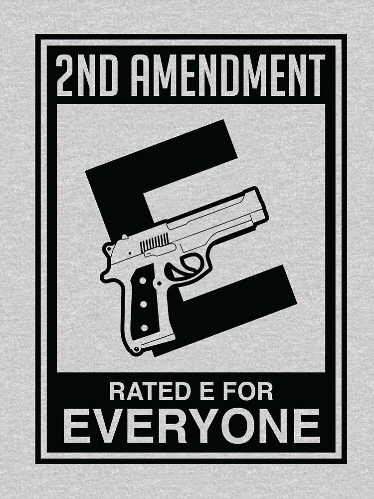 2da Enmienda clasificada E para todos de LemonRindDesign