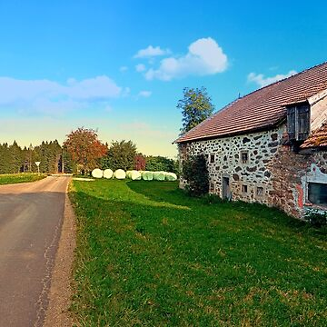 Traditional farmhouse scenery | landscape photography by patrickjobst