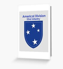 Americal Division - 23rd Infantry Greeting Card