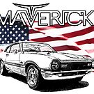Maverick USA Muscle Car by CoolCarVideos