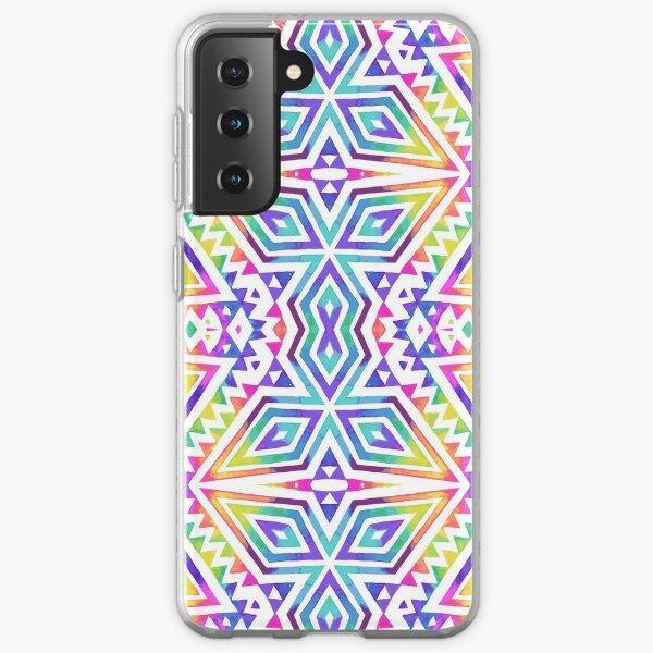 Tribal kaleidoscope. Samsung Galaxy Soft Case