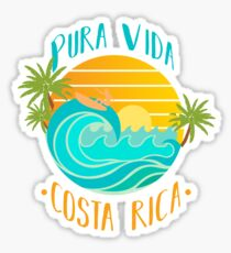 Pura Vida Costa Rica Sticker