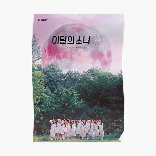 LOONA THE WORLD HI HIGH  Poster