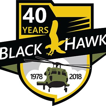 UH-60 Black Hawk Celebrating 40 Years by nbear1