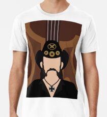 Lemmy minimal portrait Men's Premium T-Shirt