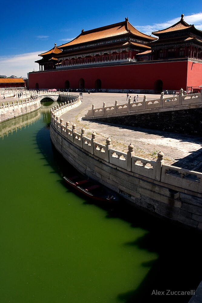 First Court - The Forbidden City, China by Alex Zuccarelli