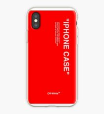 red pattern iPhone Case