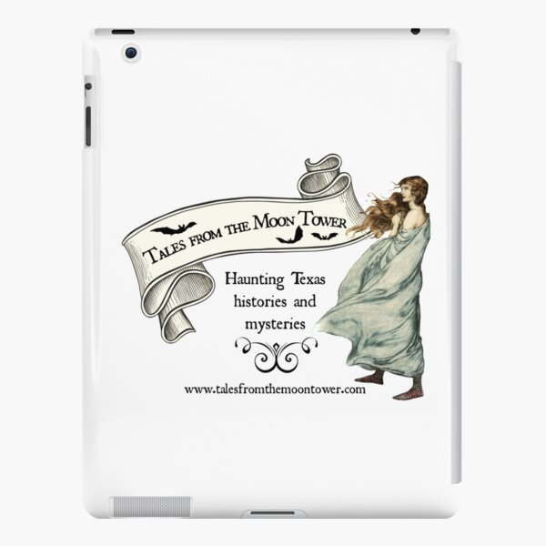Tales from the Moon Tower Woman in White  iPad Snap Case