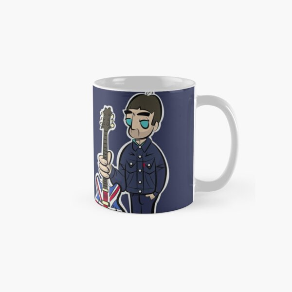 NG - Denim - Union Jack Guitar - Cartoon NGv1 Classic Mug