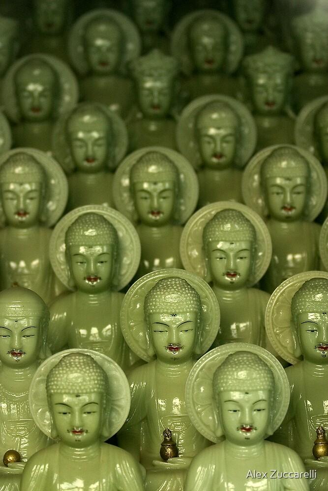 Little Buddhas - Cheongdo, South Korea by Alex Zuccarelli