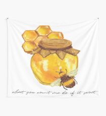 Ting Sweet. Wall Tapestry