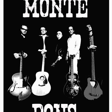 Monte Dons T Shirt by PhilB