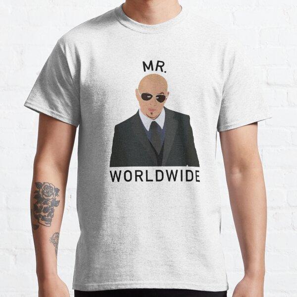 Pitbull Mr Worldwide Classic T-Shirt