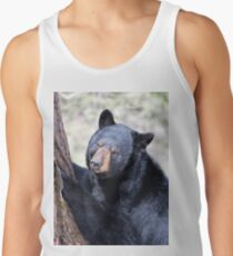 Just Thinking - Black Bear Men's Tank Top