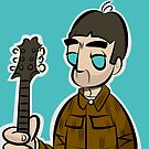 NG - Cord - Wood Guitar | Jeans - Cartoon NGv1 by monkeesblood