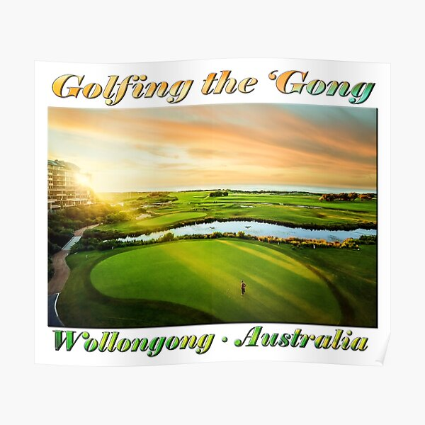 Golfing the Gong Poster