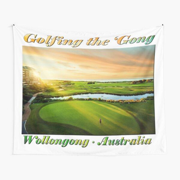 Golfing the Gong Tapestry