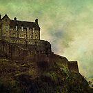 Edinburgh Castle by Agnes McGuinness
