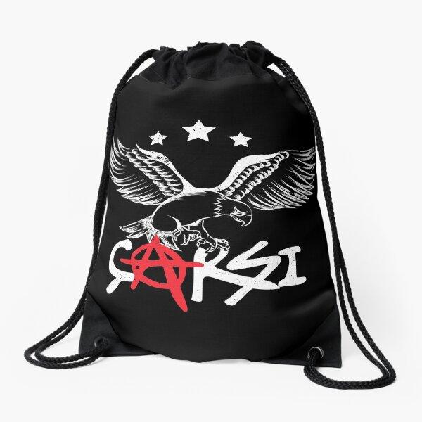 Besiktas Carsi Eagle T Shirt Drawstring Bag