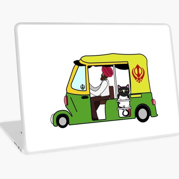 Auto-Rickshaw Ninjacat Laptop Skin
