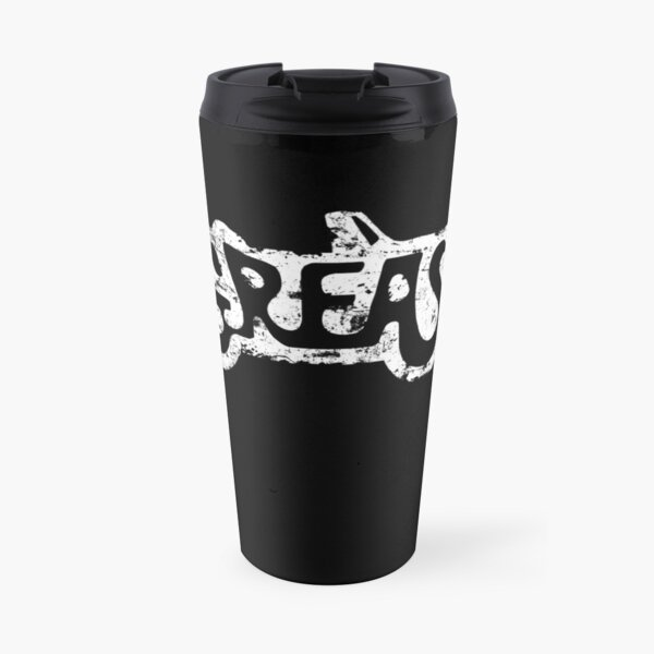 Grease logo eroded-Movie Travel Mug