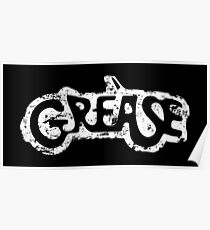 Grease logo eroded-Movie Poster