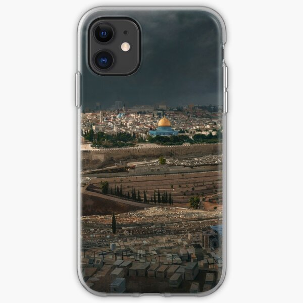 A Storm over Jerusalem iPhone Soft Case