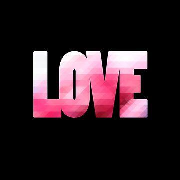 Pink Love by wordznart