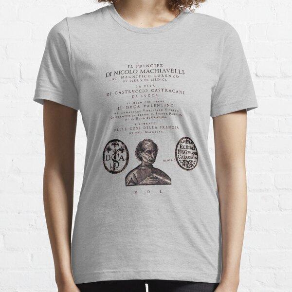 The Prince Niccolò Machiavelli Title Page Essential T-Shirt