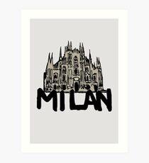Mailand Kunstdruck