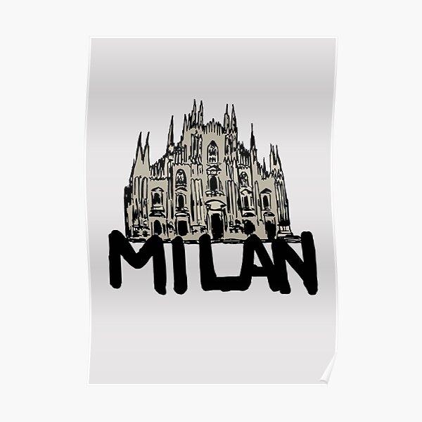Milan Poster