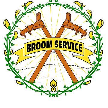 Broom Service Fancy - Rusty by mochipanda