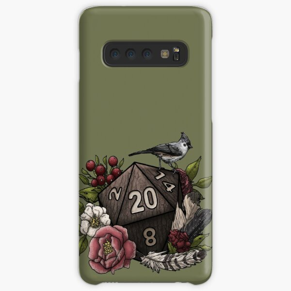 Druid Class D20 - Tabletop Gaming Dice Samsung Galaxy Snap Case