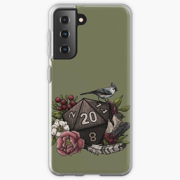 Druid Class D20 - Tabletop Gaming Dice Samsung Galaxy Soft Case