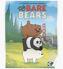 We bare Bears - CN Poster
